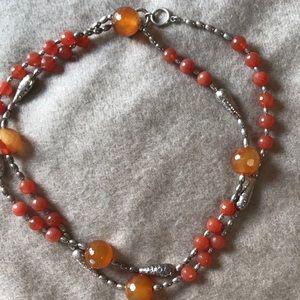 Jewelry - carnelian necklace